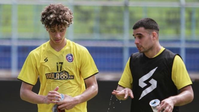 Pemain muda asal Brasil yang ada di Arema FC