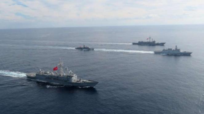 VIVA Militer: Armada laut militer Turki