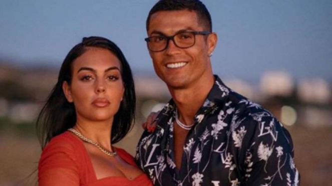 Georgina Rodriguez dan Cristiano Ronaldo.