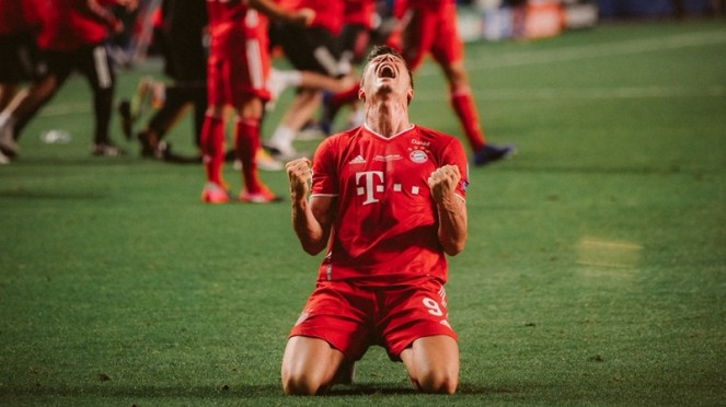 Striker Bayern Munich, Robert Lewandowski