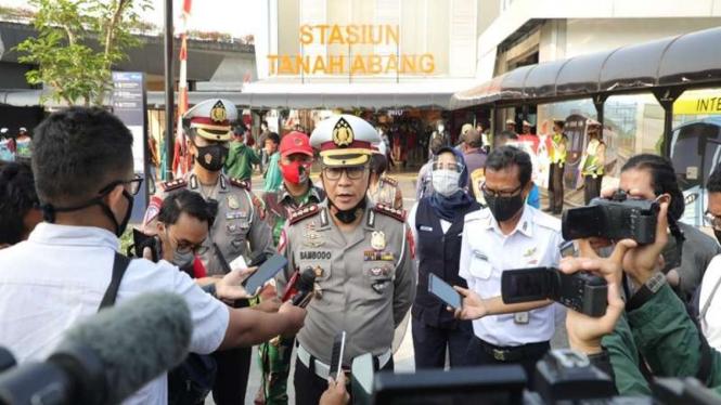Direktur Lalu Lintas Polda Metro Jaya Kombes Sambodo Purnomo Yogo. (Foto ilustrasi)