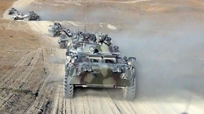 VIVA Militer: Pasukan tank militer Azerbaijan.