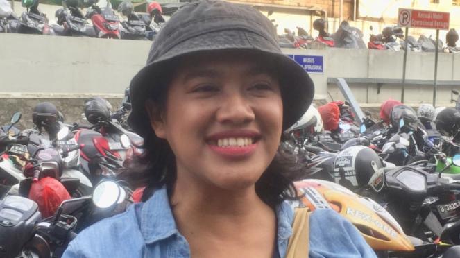 Siti Fauziah, pemeran Bu Tejo di film Tilik.