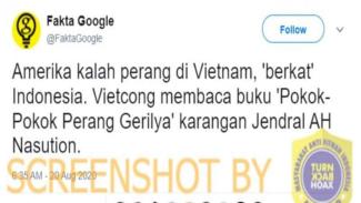 Vietnam Menang Perang Lawan Amerika Berkat Indonesia, Cek Faktanya