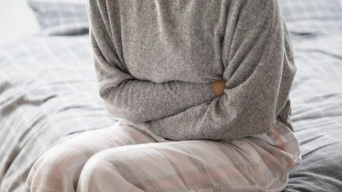Ilustrasi sakit lambung atau gastrointestinal.