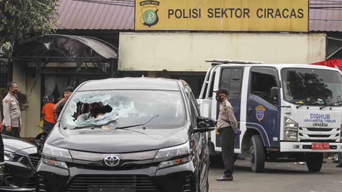 Pasca penyerangan Polsek Ciracas