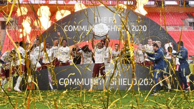 Arsenal juara Community Shield 2020
