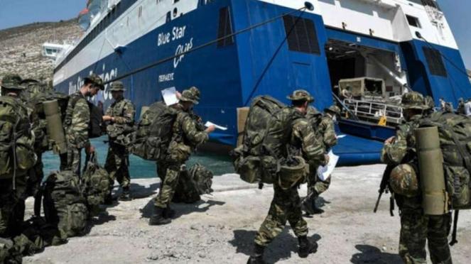 VIVA Militer: Tentara Yunani mendekati wilayah Turki