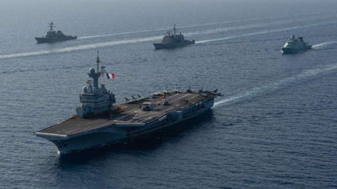 VIVA Militer: Kapal induk Angkatan Laut Prancis, Charles de Gaulle
