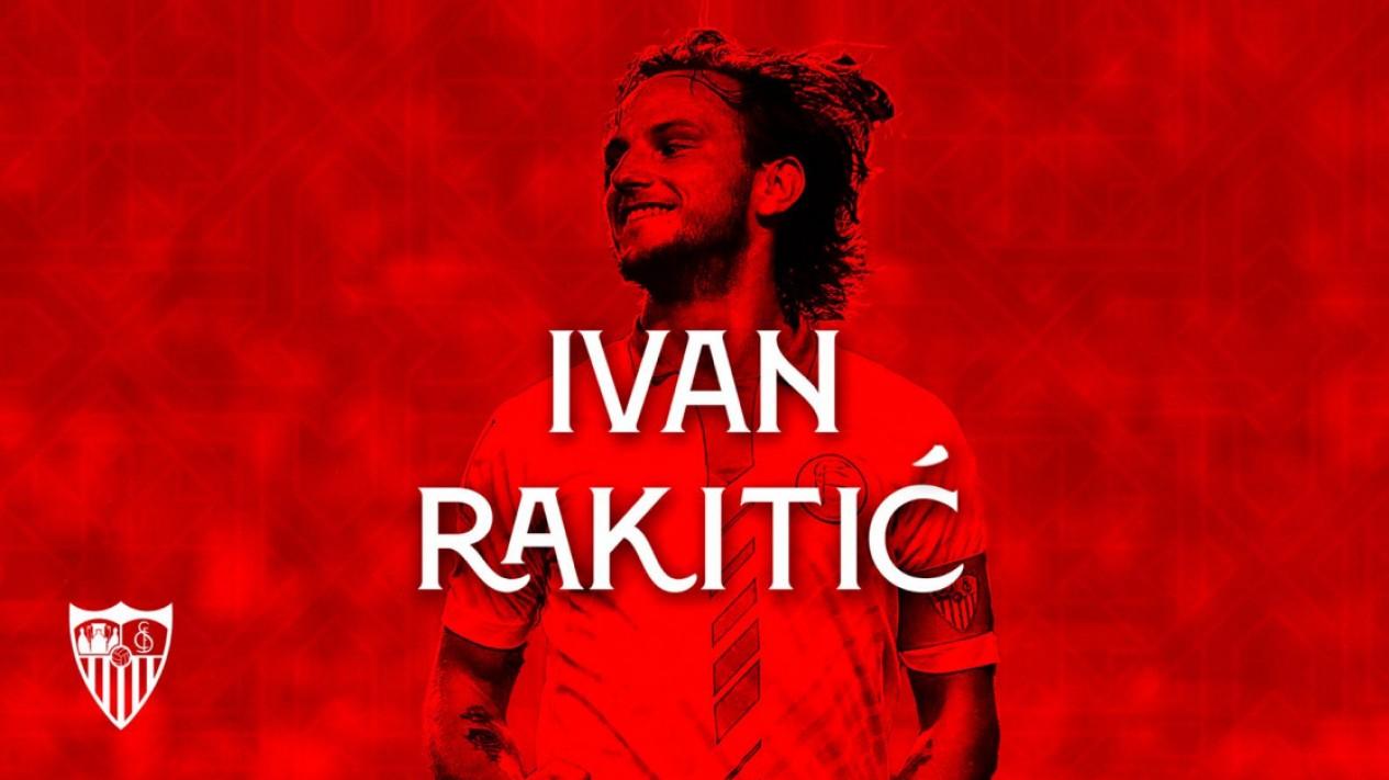 Ivan Rakitic resmi kembali ke Sevilla