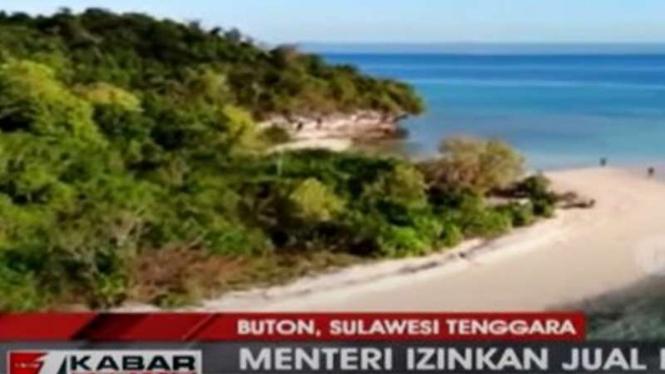 Menteri KKP izinkan pulau kecil di Buton dijual