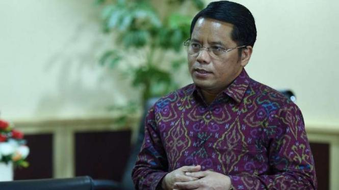 Direktur Jenderal Bimbingan Masyarakat Islam Kementerian Agama, Kamaruddin Amin