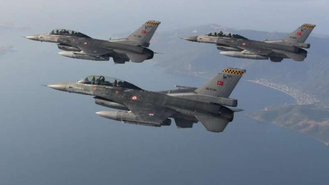 VIVA Militer: Pesawat tempur militer Turki.