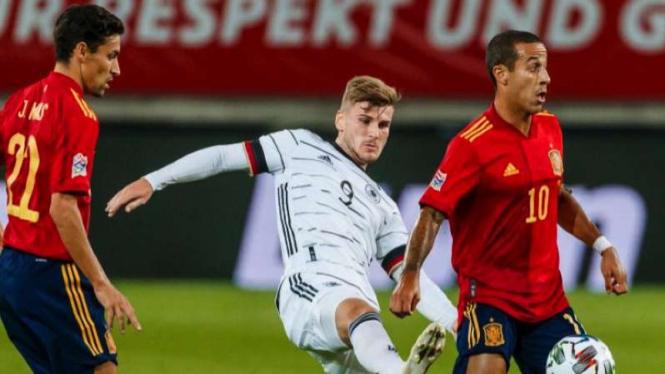Duel Jerman Vs Spanyol di ajang UEFA Nations League 2020/2021