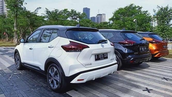 Tampilan belakang All New Nissan Kicks e-Power