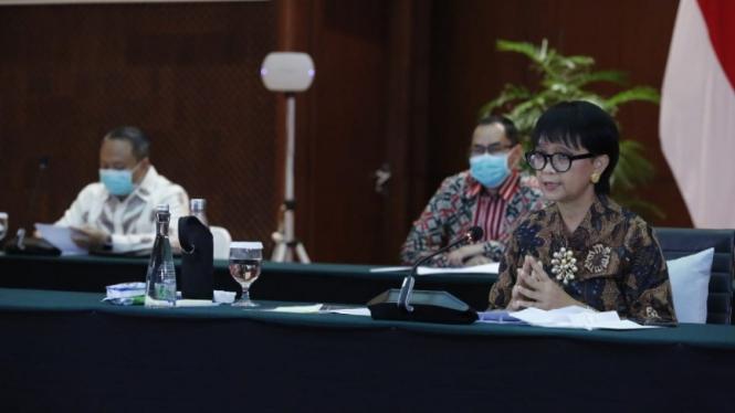 Menteri Luar Negeri RI Retno Marsudi.