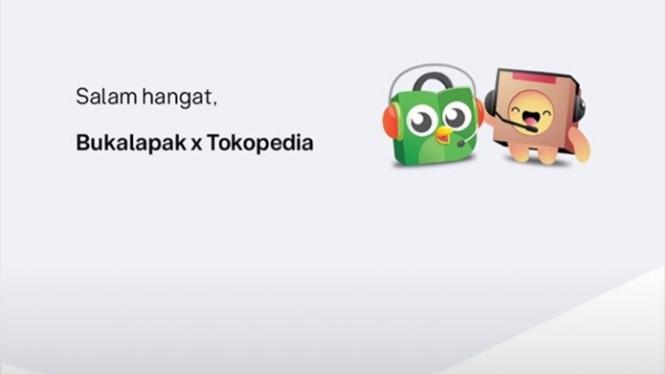 Bukalapak dan Tokopedia.