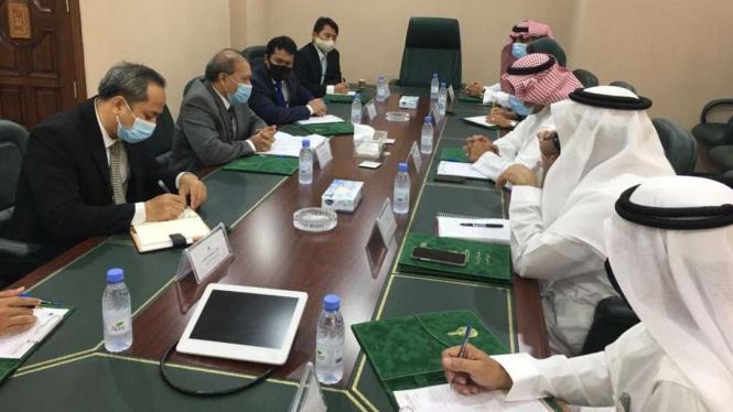 KJRI Jeddah rapat dengan Deputi Umrah Kementerian Haji dan Umrah Arab Saudi