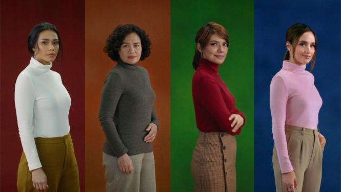Adinia Wirasti, Mira Lesmana, Najwa Shihab, Cinta Laura