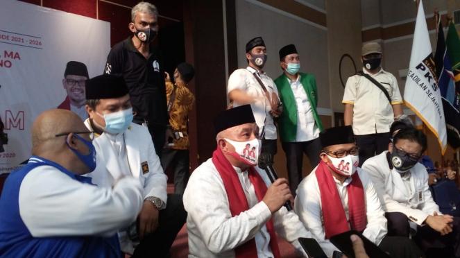 Calon Walkot dan Wakil Kota Depok, Mohammad Idris - Imam Budi Hartono