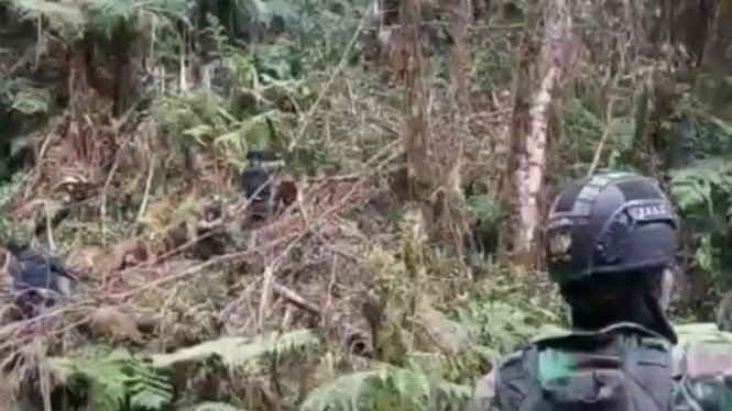 VIVA Militer: Pasukan Satgas Yonif Para Raider 305/Tengkorak Kostrad