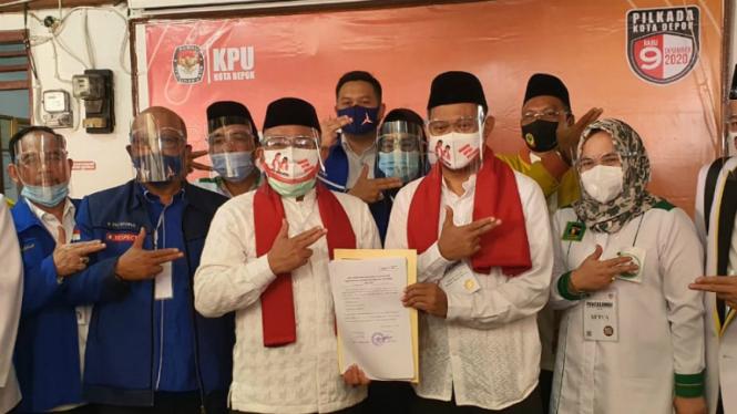 Duet pasangan calon yang diusung PKS di PIlkada Depok