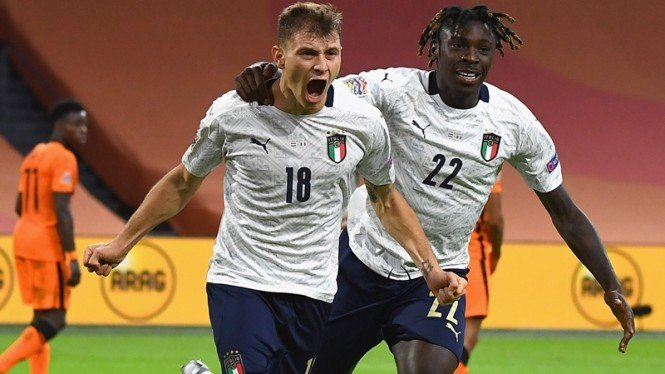 Pertandingan Timnas Belanda vs Italia