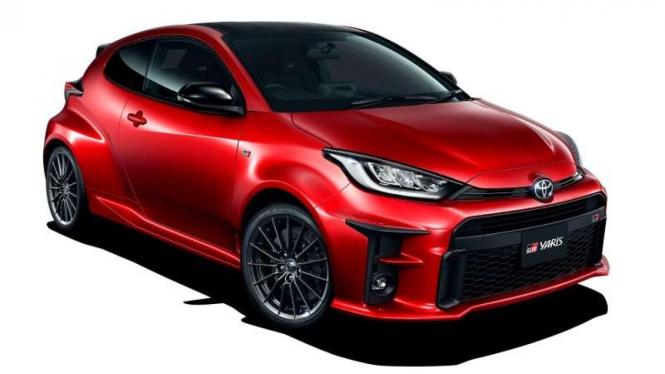 Tampilan sporty mobil Toyota Gazoo Racing Yaris