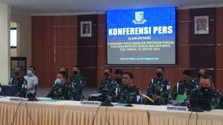VIVA Militer : Konfrensi pers update penanganan kasus penyerangan Polsek Ciracas