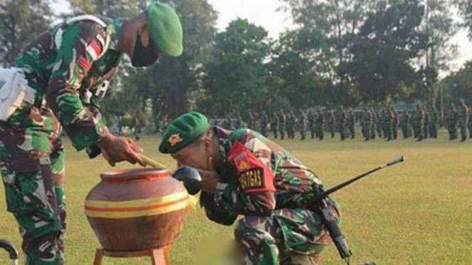 VIVA Militer: Batalyon Infanteri 407/Padma Kusuma.