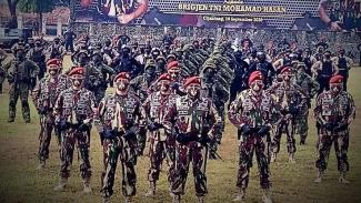 VIVA Militer: Serah terima jabatan Komandan Jenderal Kopassus.