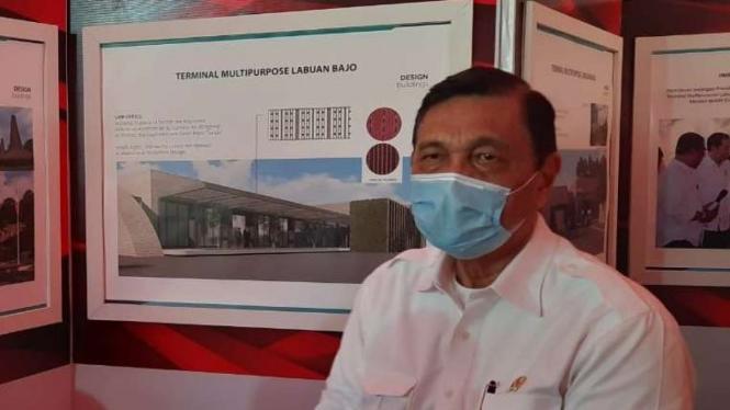 Menteri Koordinator Kemaritiman dan Investasi, Luhut Binsar Pandjaitan.