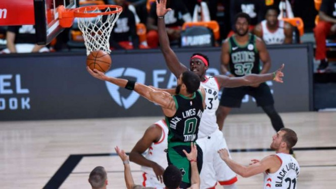 Boston Celtics vs Toronto Raptors di semifinal Wilayah Timur NBA
