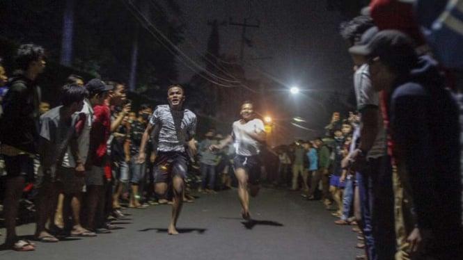 Balap lari liar di jalanan