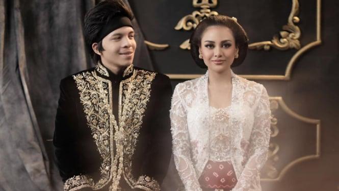 Atta Halilintar dan Aurel Hermansyah.