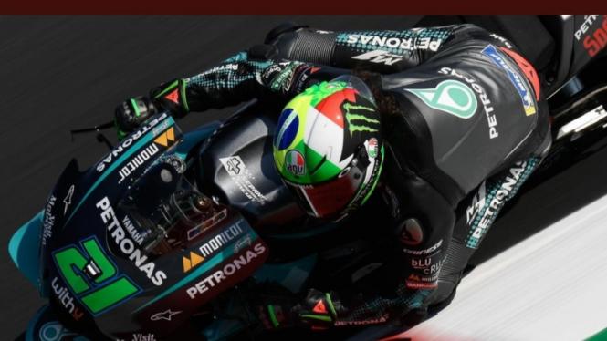 Pembalap Petronas Yamaha SRT, Franco Morbidelli.