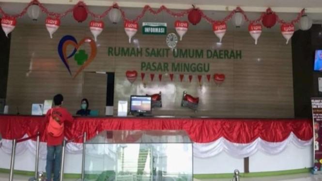 RSUD Pasar Minggu, rumah sakit rujukan COVID-19 di Jakarta