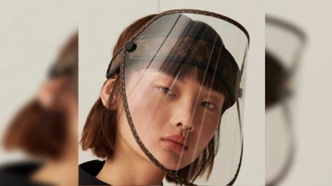 Face shield  Louis Vuitton