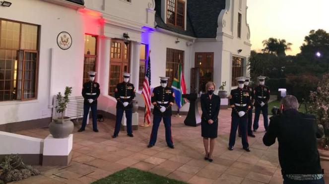 VIVA Militer: Dubes AS untuk Afrika Selatan, Lana Mark.