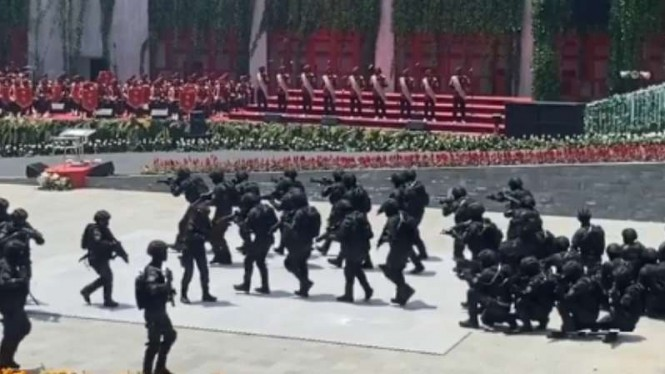 VIVA Militer: Pasukan khusus Rajawali BIN.