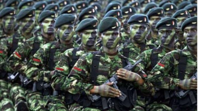 VIVA Militer: Prajurit Batalyon Raider TNI AD