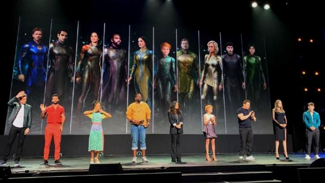 Line up karakter superhero Marvel Studios