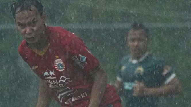 Persija Jakarta vs Tira Persikabo, laga uji coba