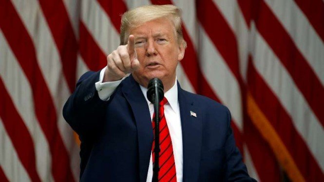 VIVA Militer: Presiden Amerika Serikat, Donald Trump