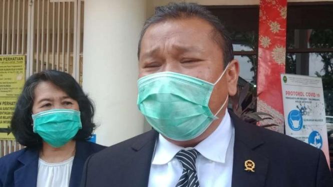 Ketua Pengadilan Negeri Palembang Bongbongan Silaban