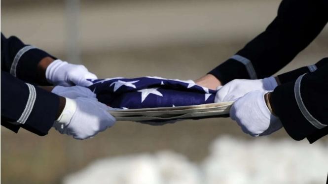 VIVA Militer: Ilustrasi Pemakaman Tentara Amerika Serikat