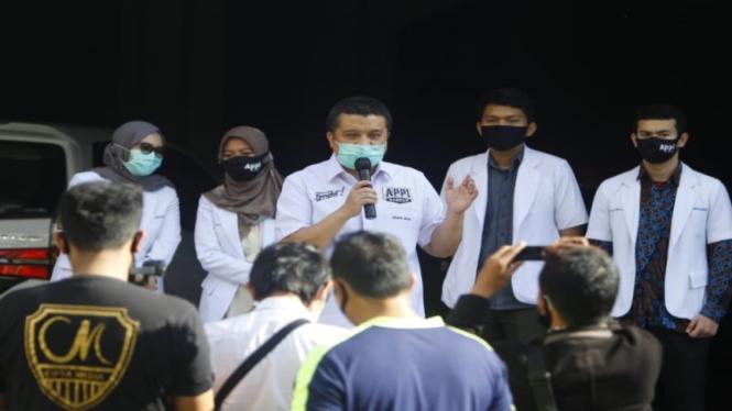 Erwin Aksa all out memenangkan iparnya, Munafri Arifuddin, di Pilkada Makassar.