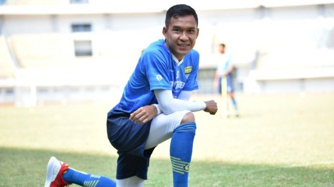 Pemain sayap Persib, Erwin Ramdani