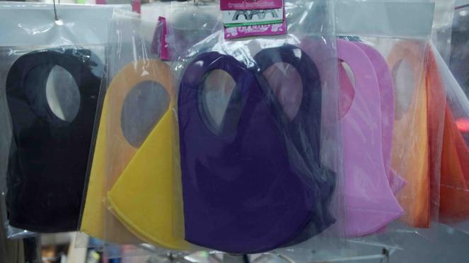 Larangan penggunaan masker scuba dan buff