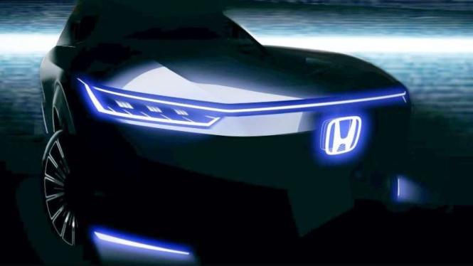 Gambar penggonda mobil elektrik Honda